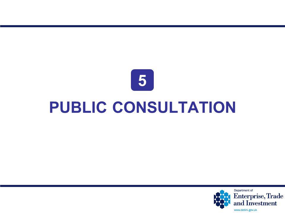 12-38 PUBLIC CONSULTATION 5