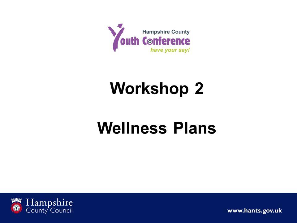 Workshop 2 Wellness Plans