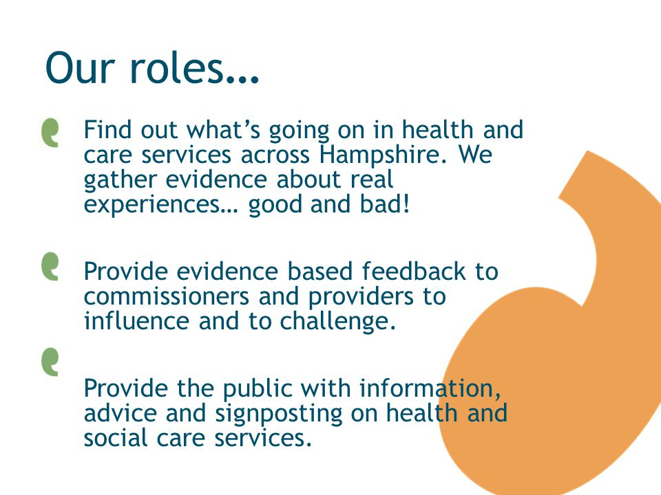 Find out what's going on in health and care services across Hampshire.