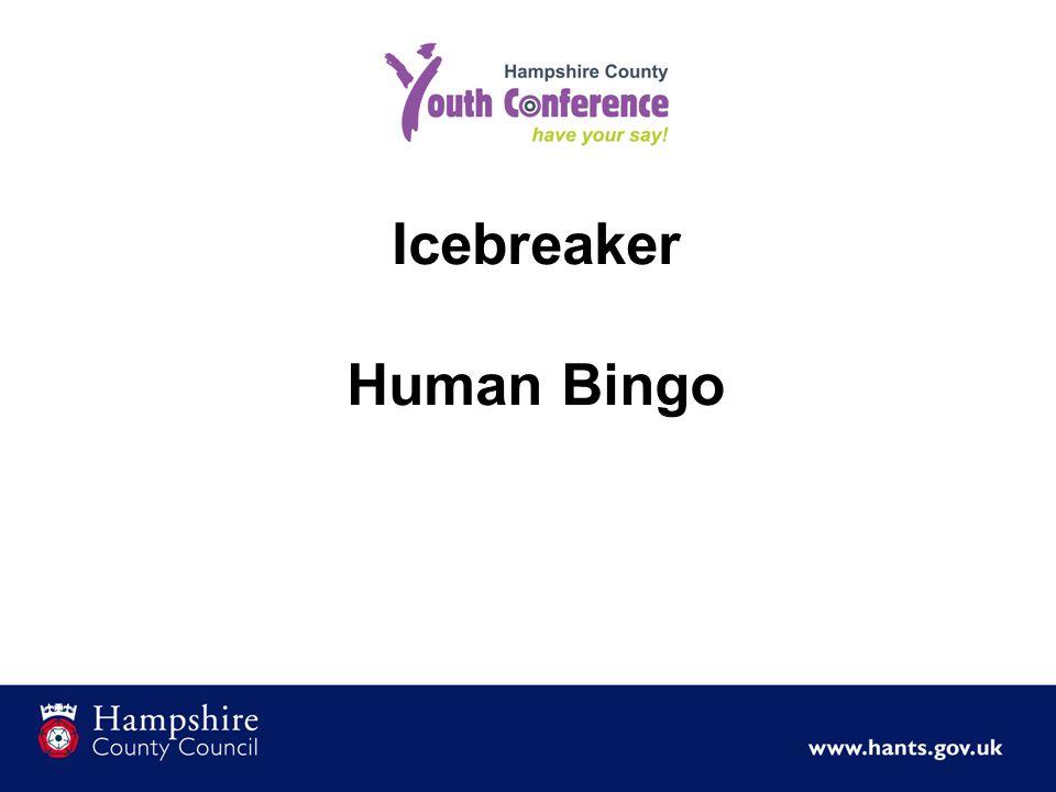 Icebreaker Human Bingo