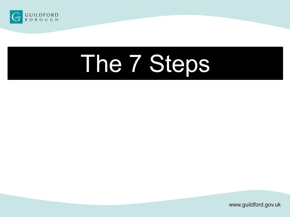 The 7 Steps