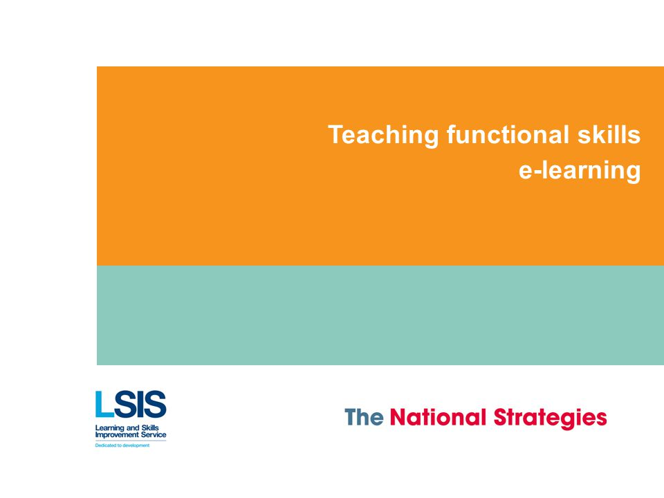 micro teach on embeding functional skills
