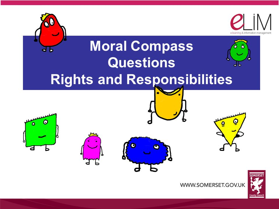 Moral Compass Questions Rights and Responsibilities