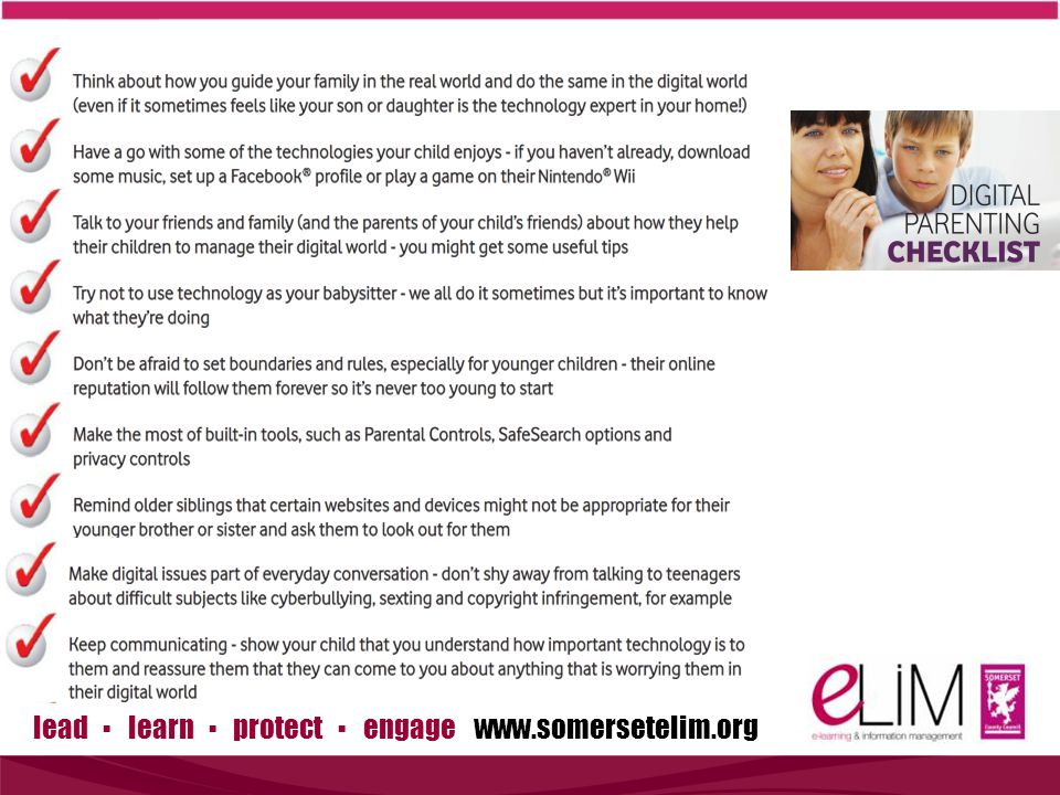 lead ▪ learn ▪ protect ▪ engage www.somersetelim.org