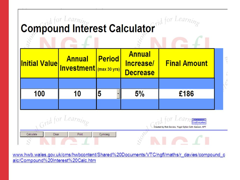 www.hwb.wales.gov.uk/cms/hwbcontent/Shared%20Documents/VTC/ngfl/maths/r_davies/compound_c alc/Compound%20Interest%20Calc.htm
