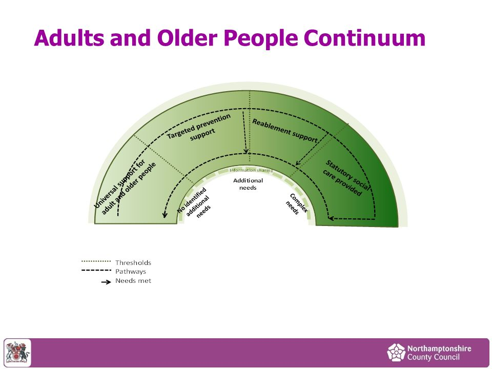 Adults and Older People Continuum
