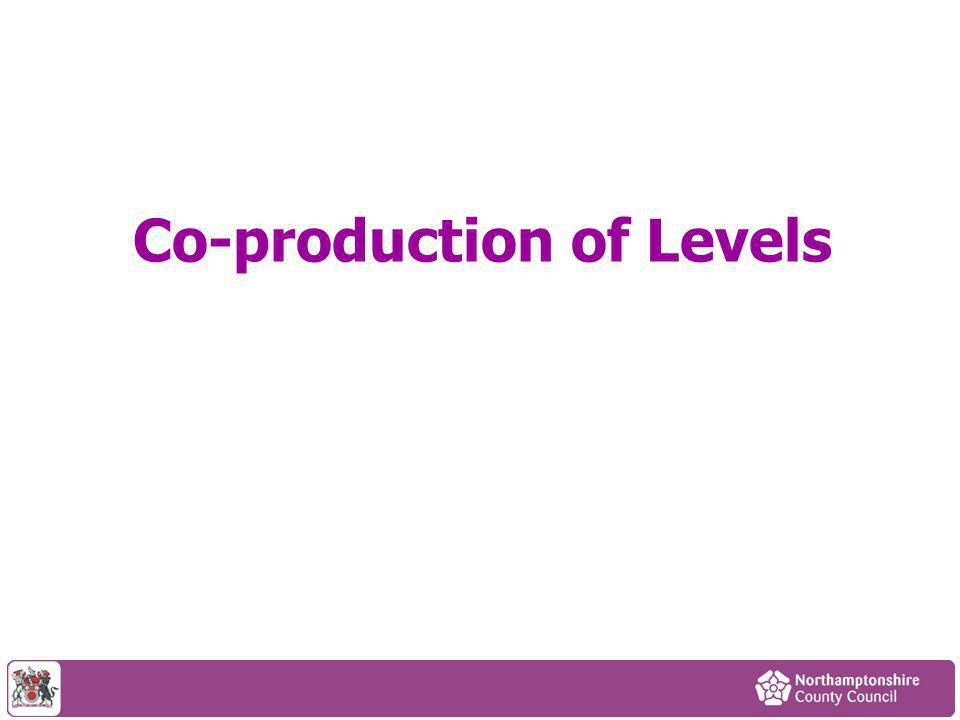 Co-production of Levels