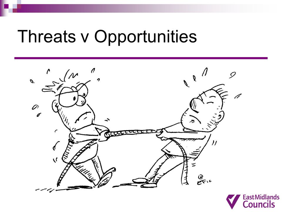 Threats v Opportunities