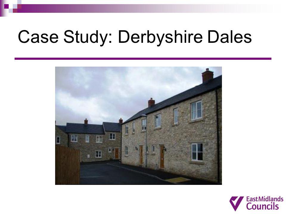 Case Study: Derbyshire Dales