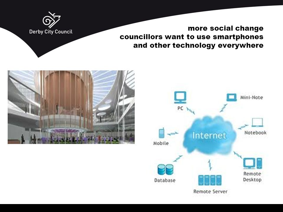 more social change councillors want to use smartphones and other technology everywhere