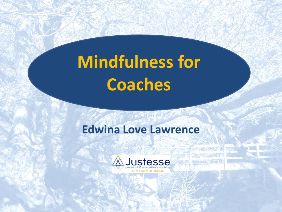 Activity What impact might mindfulness have on your own coaching?