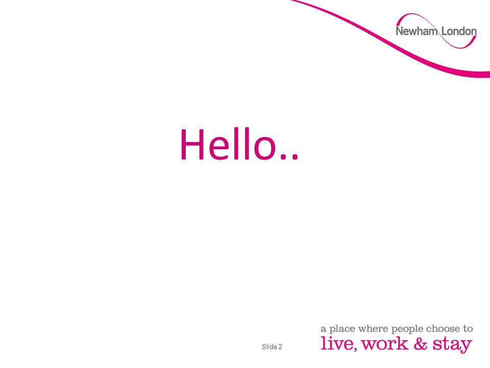 Slide 2 Hello..