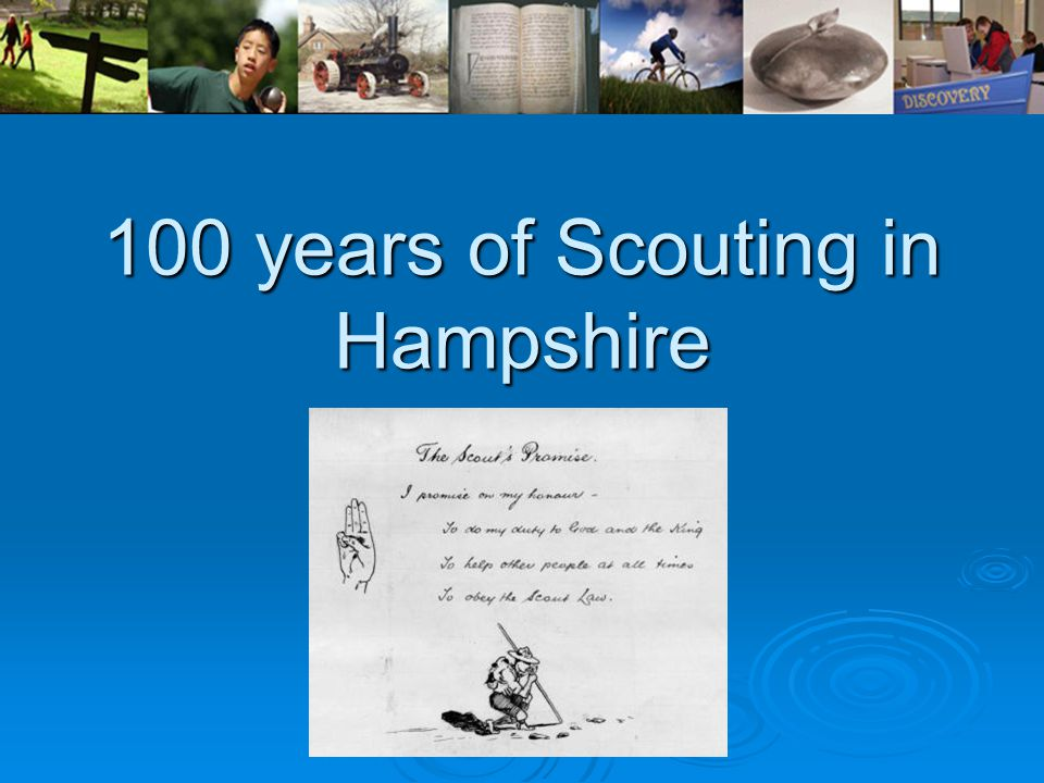 100 years of Scouting in Hampshire