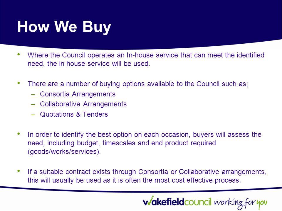 How do we evaluate bids.