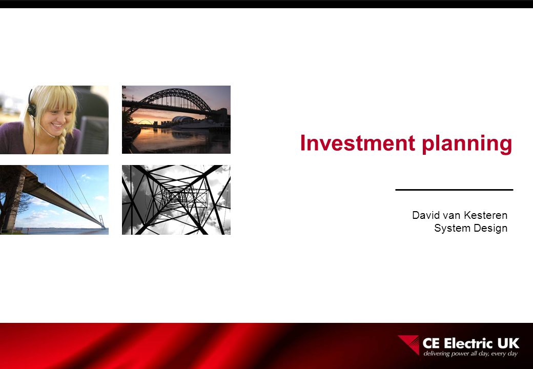 Investment planning David van Kesteren System Design