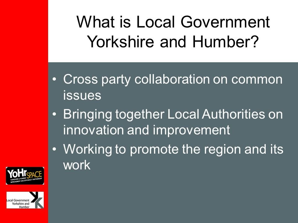 What is Local Government Yorkshire and Humber.