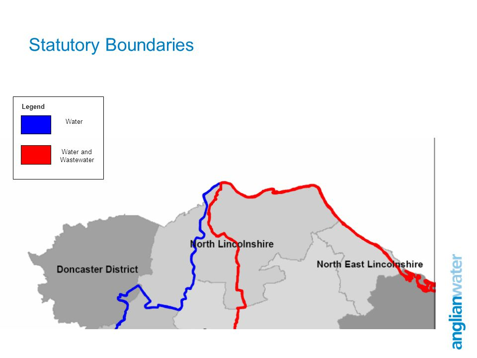 Statutory Boundaries Water Water and Wastewater Legend
