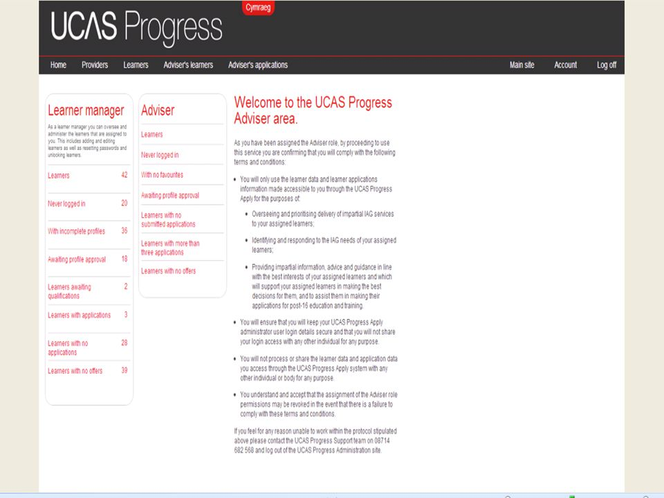 New login in site for providers The futures4me website is now archived Providers now log in to: www.ucasprogress.com
