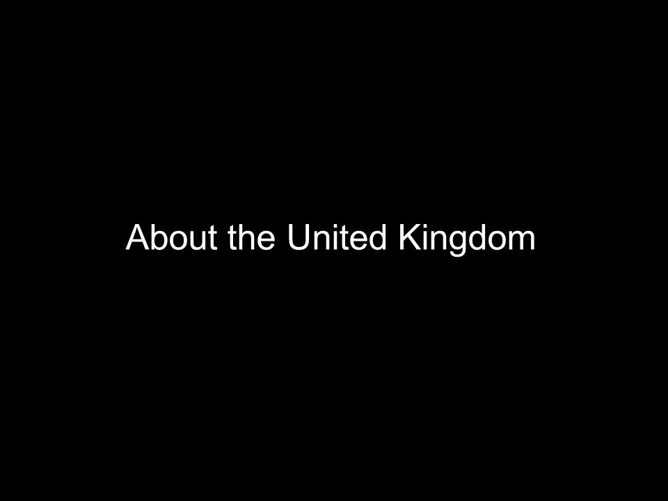 About the United Kingdom