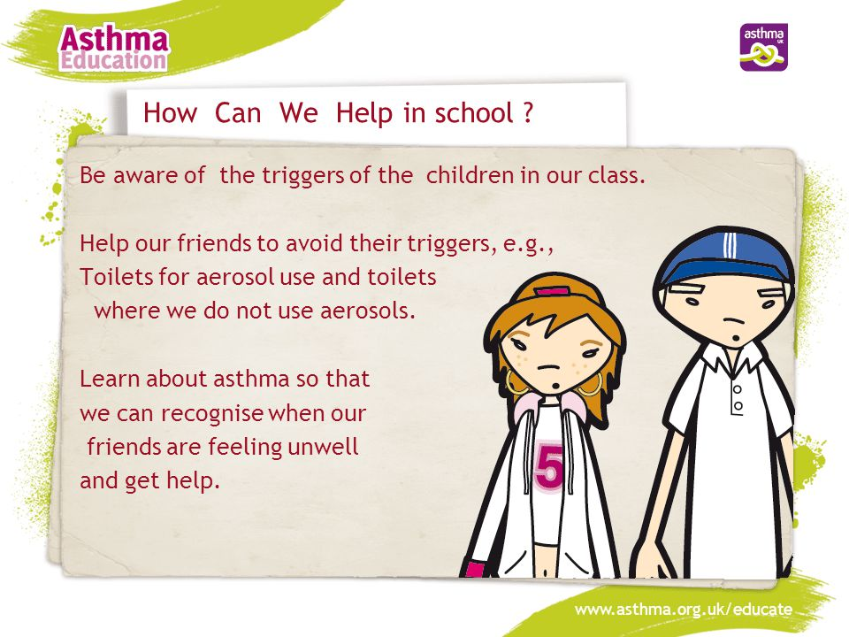 Why do people get asthma.Scientists are researching the exact reasons for asthma.