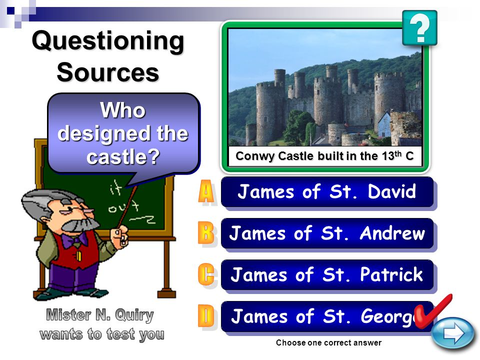 Questioning Sources James of St.Andrew James of St.
