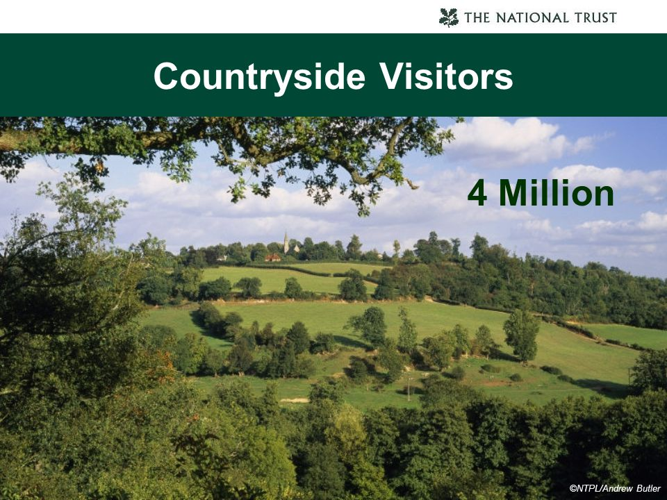 Countryside Visitors 4 Million ©NTPL/Andrew Butler