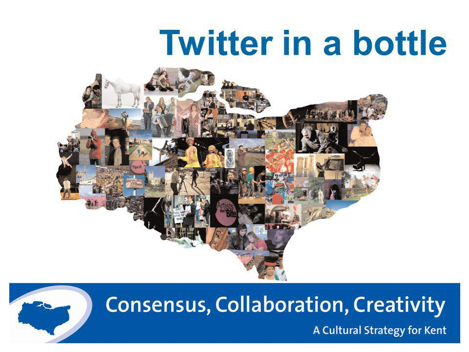 Twitter in a bottle
