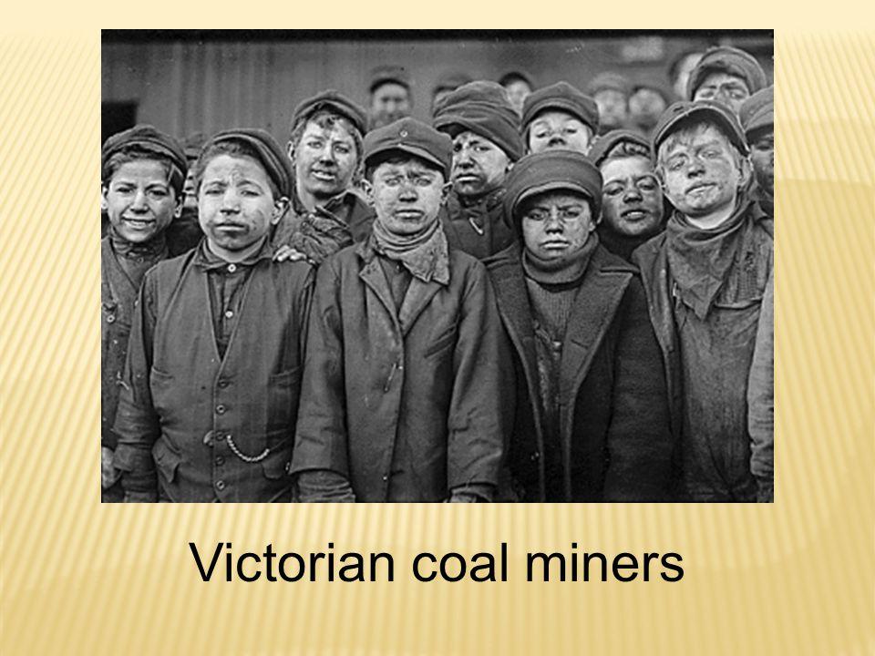 Victorian coal miners