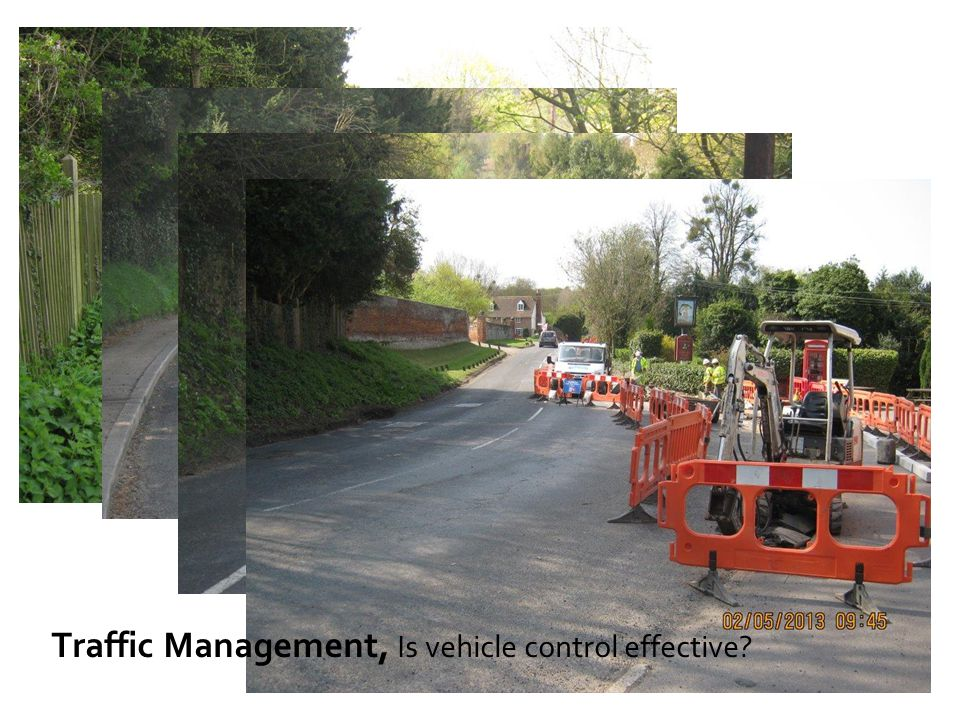 Traffic Management, Is vehicle control effective