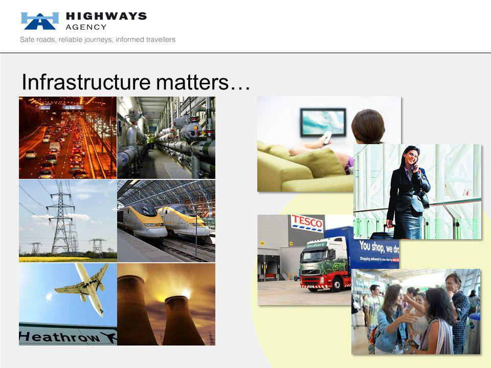 Infrastructure matters…