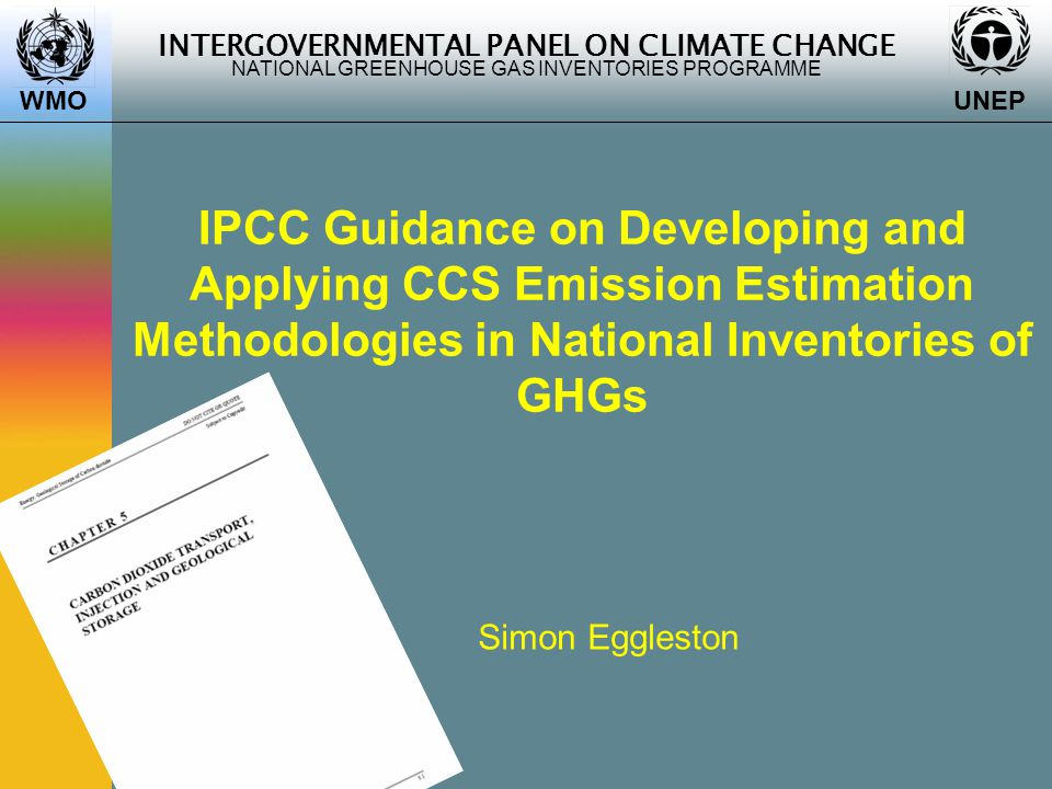 INTERGOVERNMENTAL PANEL ON CLIMATE CHANGE NATIONAL GREENHOUSE GAS INVENTORIES PROGRAMME WMO UNEP 12 Factors  Emissions can be derived from emission factors for fugitive methane from pipelines and associated equipment