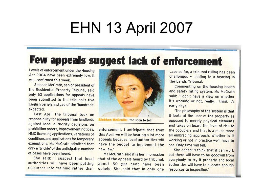 EHN 13 April 2007