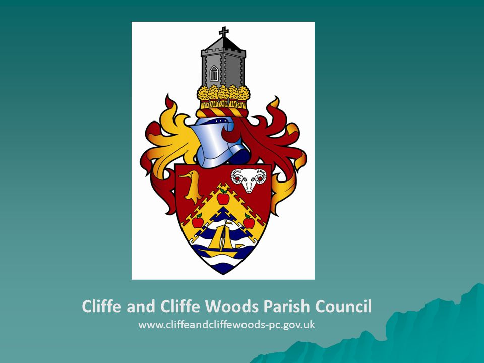Cliffe and Cliffe Woods Parish Council www.cliffeandcliffewoods-pc.gov.uk