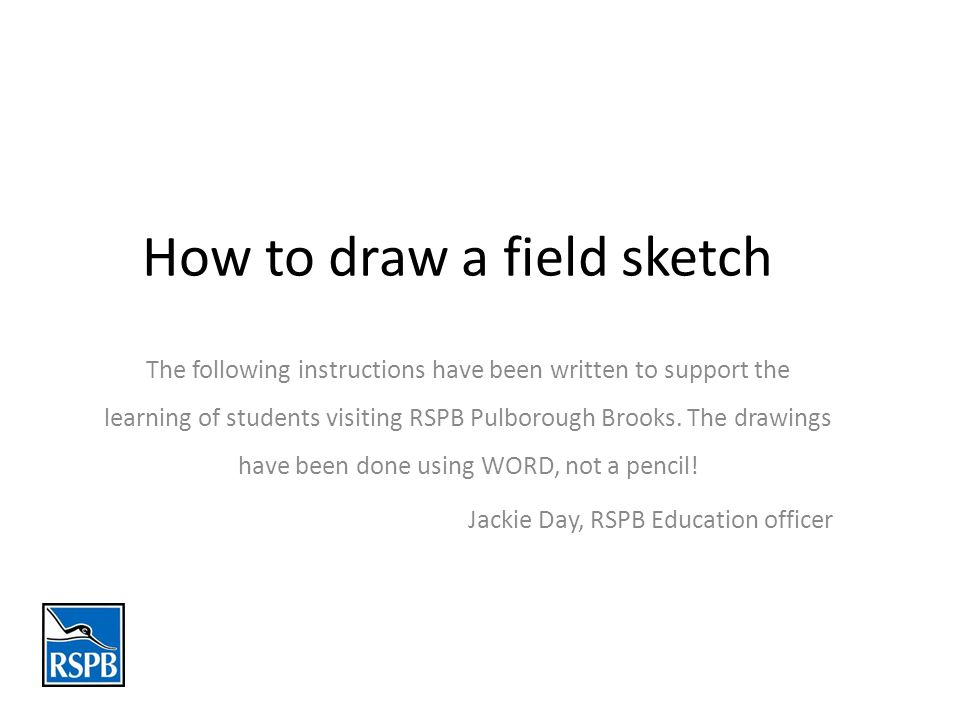 Draw 2 lines lightly, approximately dividing the page equally into 3 parts.