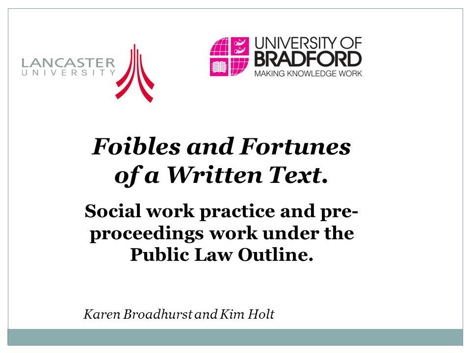 References Broadhurst, K.and Holt, K.E.