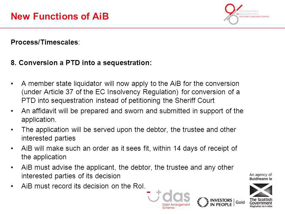 New Functions of AiB Process/Timescales: 8.