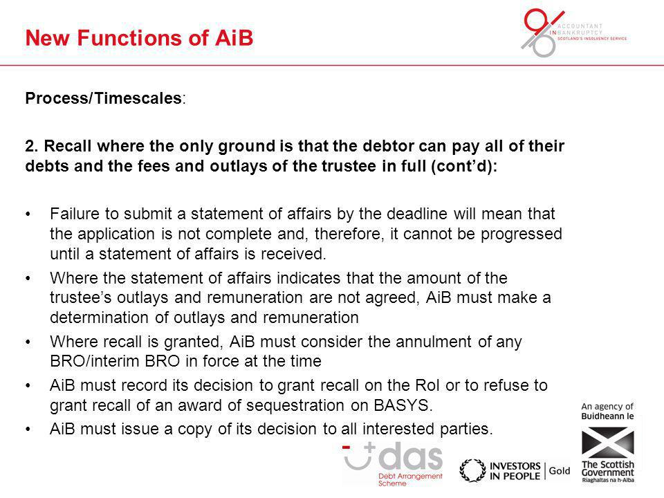 New Functions of AiB Process/Timescales: 2.