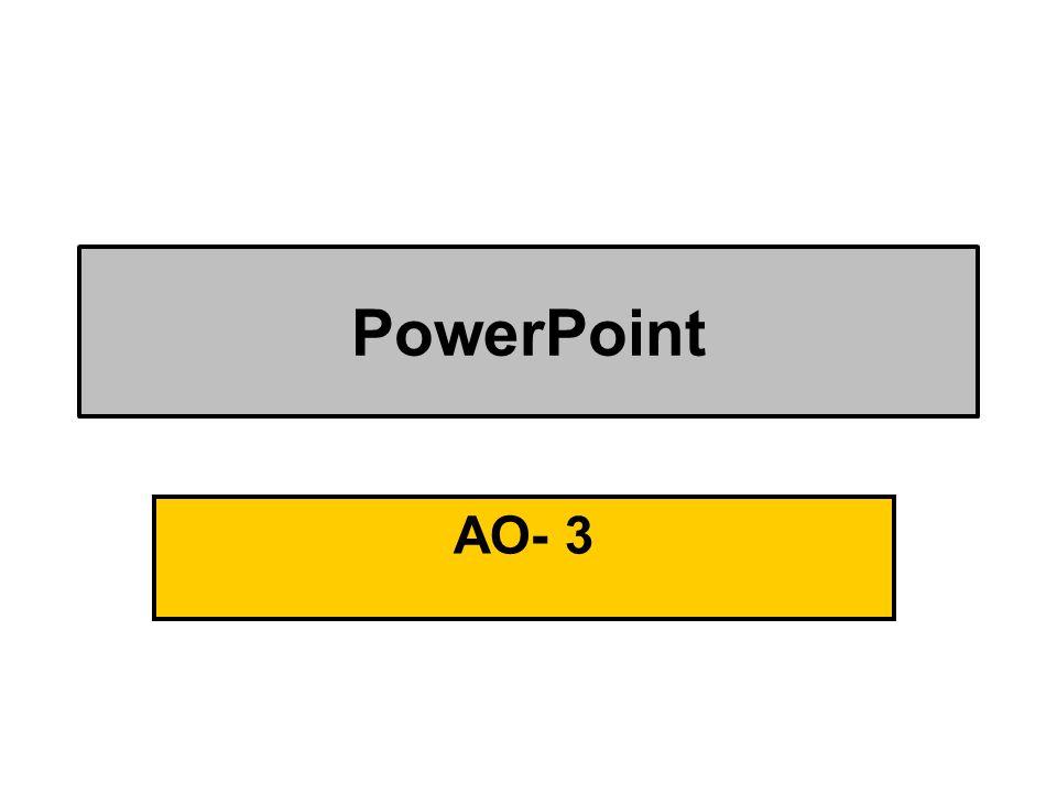 PowerPoint AO- 3