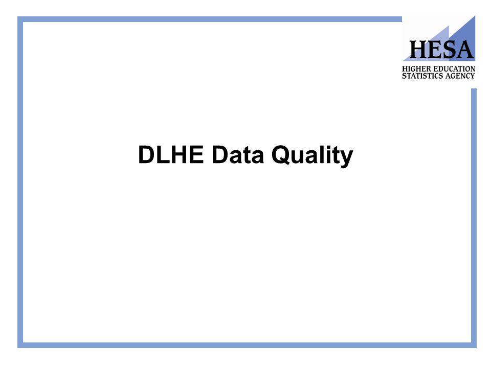 DLHE Data Quality