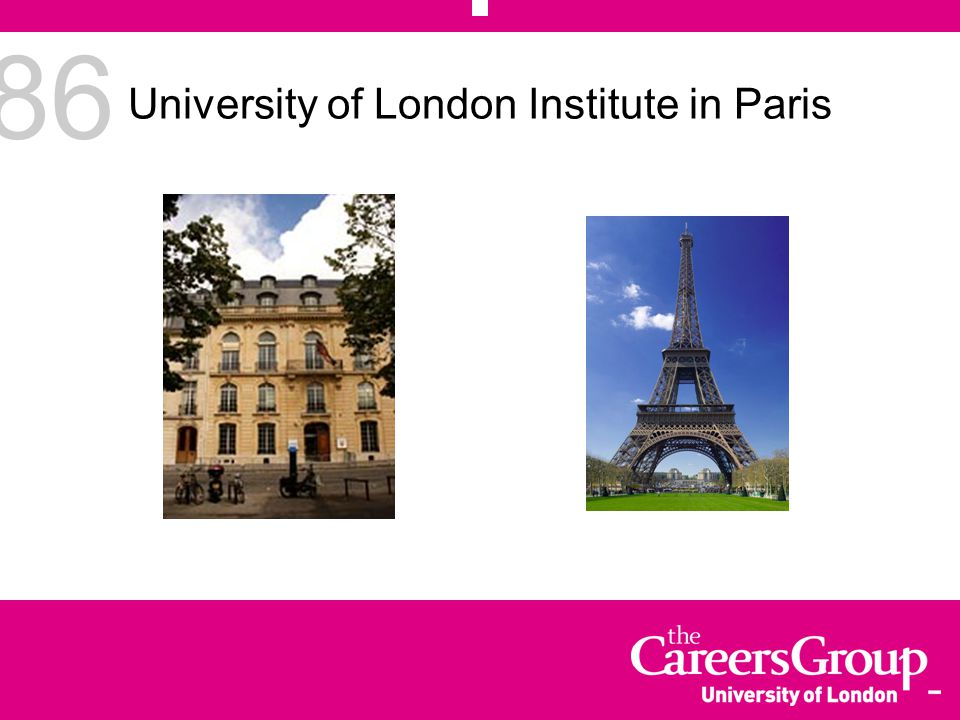 86 University of London Institute in Paris