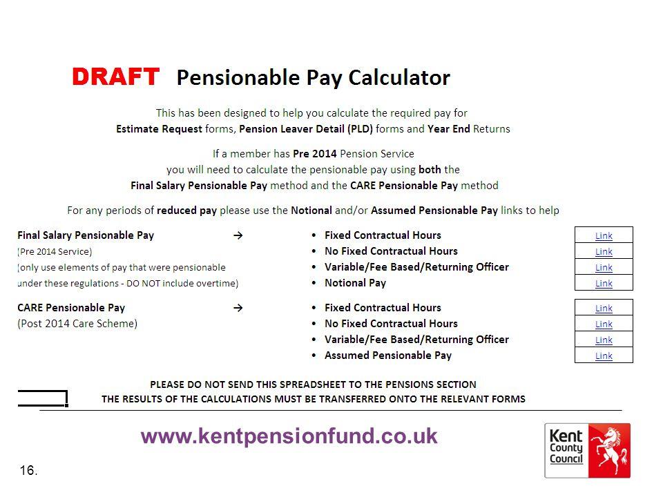 www.kentpensionfund.co.uk 16.