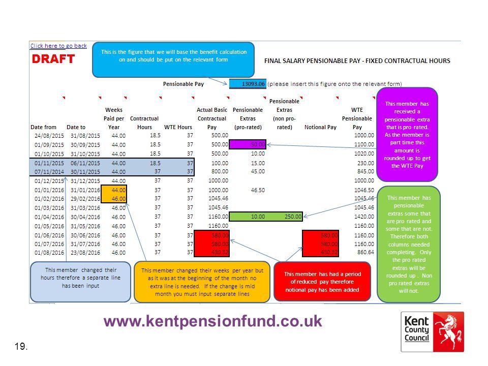 www.kentpensionfund.co.uk 19.