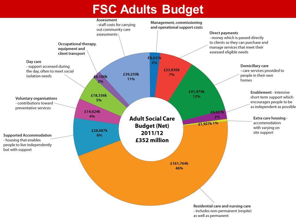 FSC Adults Budget