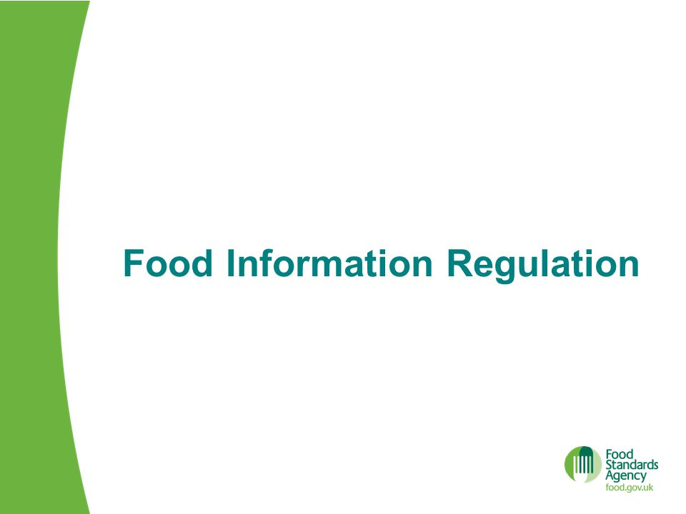 Food Information Regulation