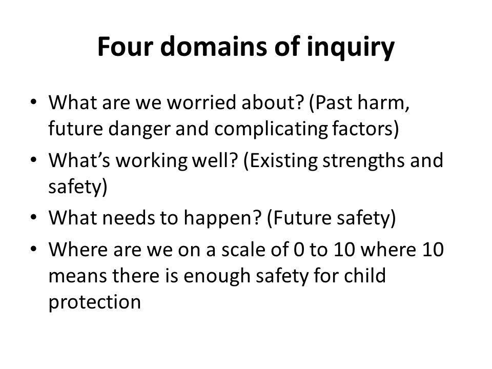 Risk Statement If things were to carry on as they are now, what will happen to the child/children/young person?