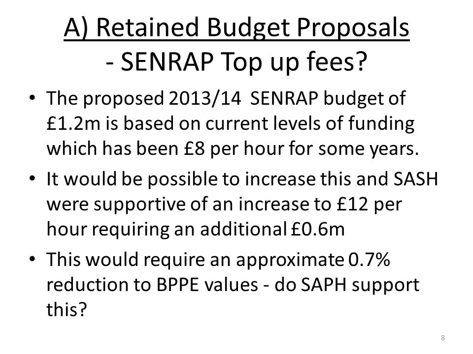 End of Presentation / Consultation Any questions on any other aspects of the school funding reform programme.