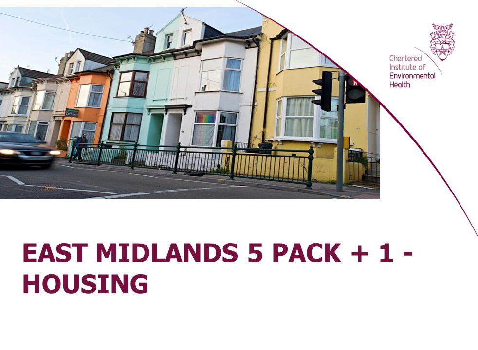 EAST MIDLANDS 5 PACK + 1 - HOUSING