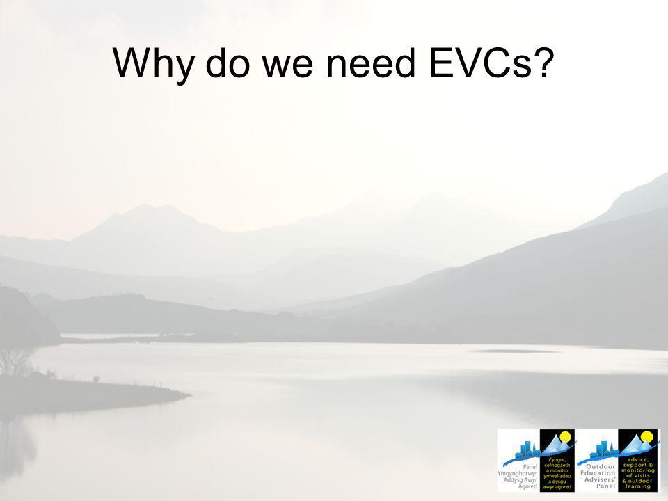 Why do we need EVCs?