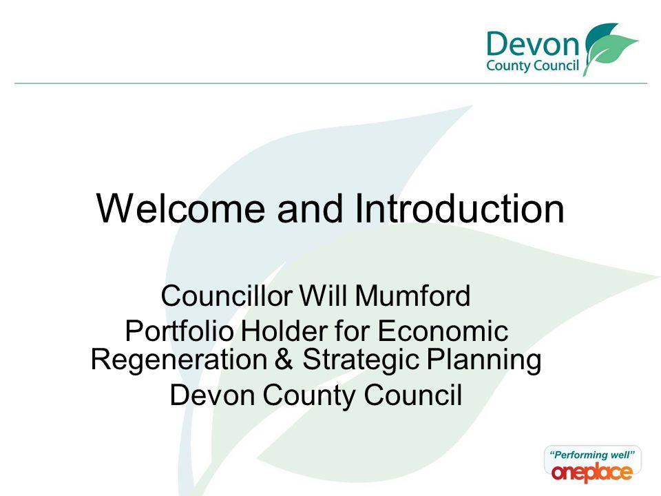 Peninsula Partnership Ian Harrison Deputy Executive Director of Environment, Economy & Culture Devon County Council