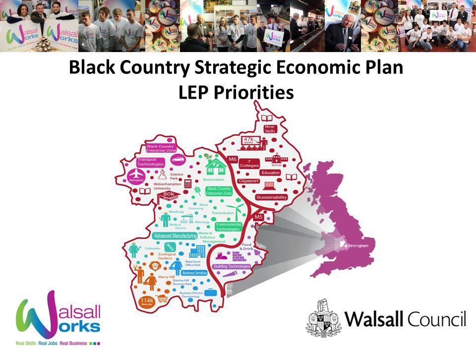 Black Country Strategic Economic Plan LEP Priorities